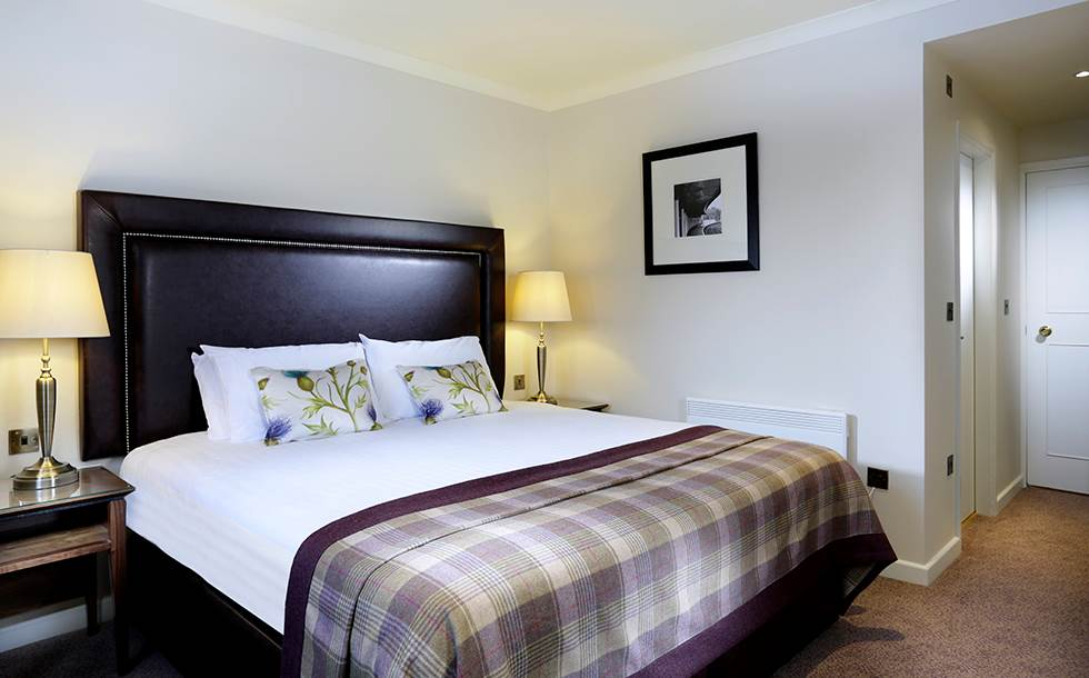 Macdonald Aviemore Morlich Hotel Craigellachie Suite Bedroom in Highlands