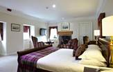 Macdonald Houstoun House Feature Double Room in Lothian