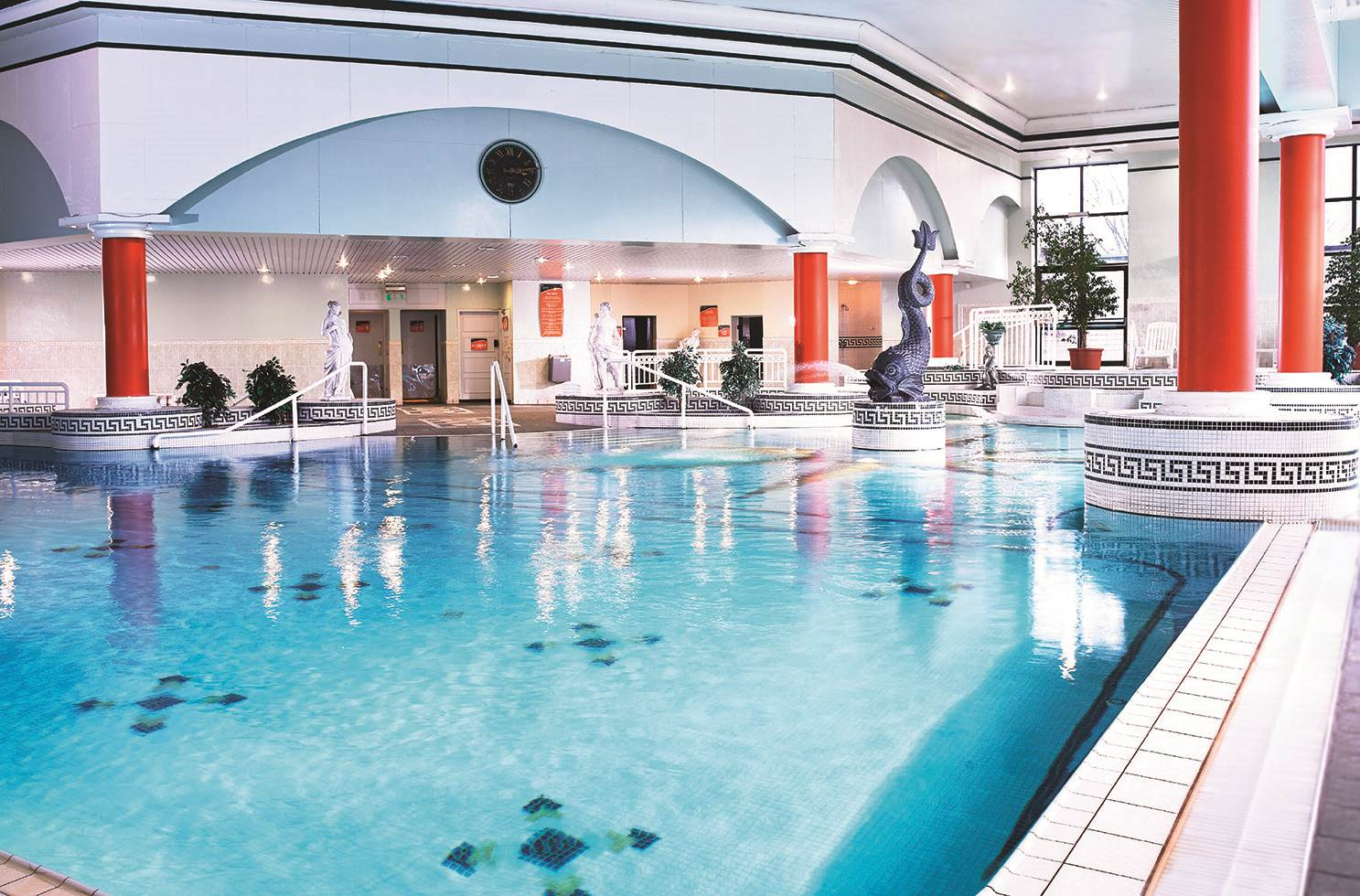 The Connacht Hotel Pool in Galway
