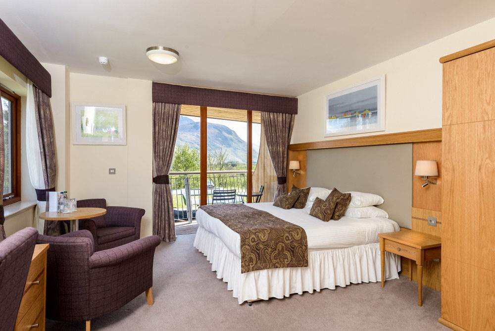The Moorings Hotel Bedroom in Fort William