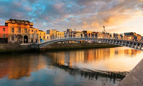 Brendan Vacations Dublin Ha Penny Bridge