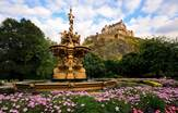 Ross Fountain Edinburgh Scotland Tours