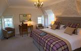 Carberry Tower Mansion Bedroom Scotland Edinburgh Tours