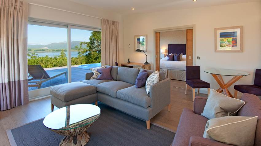 Isle of Eriska and Island Hotel Bedroom Argyll Scotland Tours