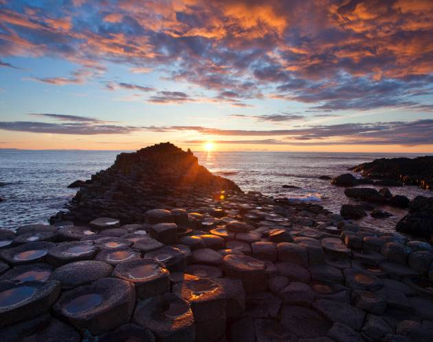 Legends The Giants Causeway in Northern Ireland