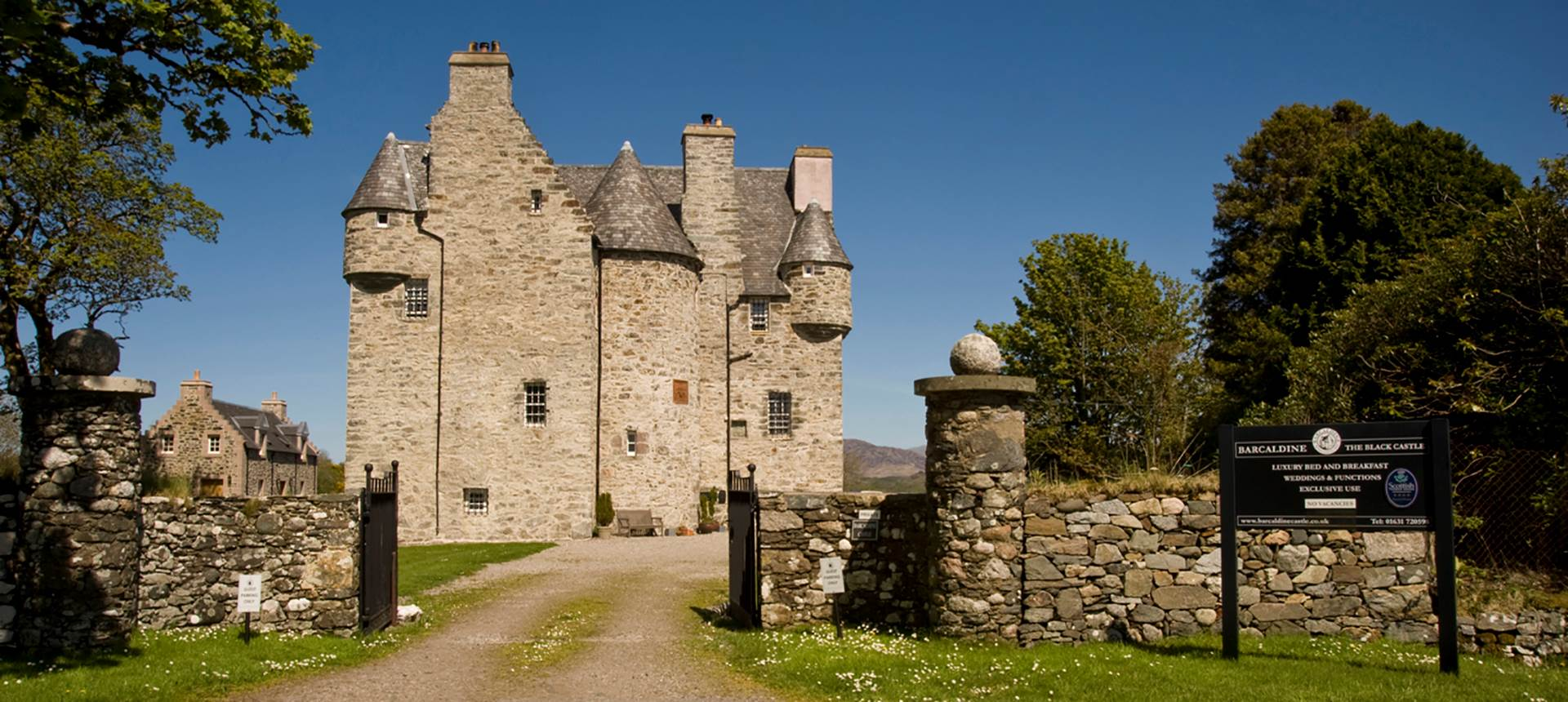 Barcaldine Castle Scotland Highlands