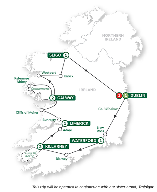 Brendan-Vacations-2021-Map-BestofIreland