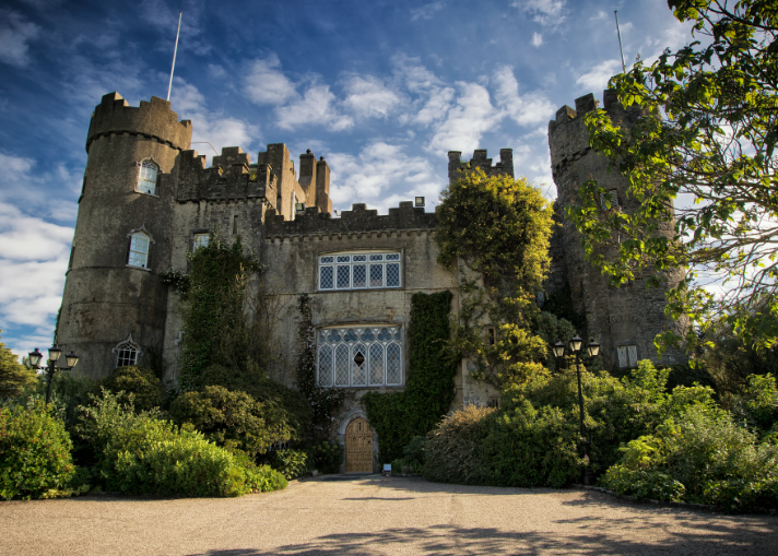 Malahide Castle in Dublin Ireland