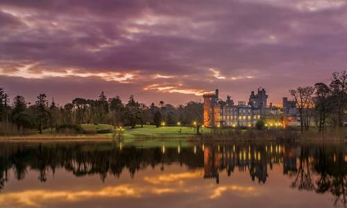 Dromoland Castle in County Clare Ireland