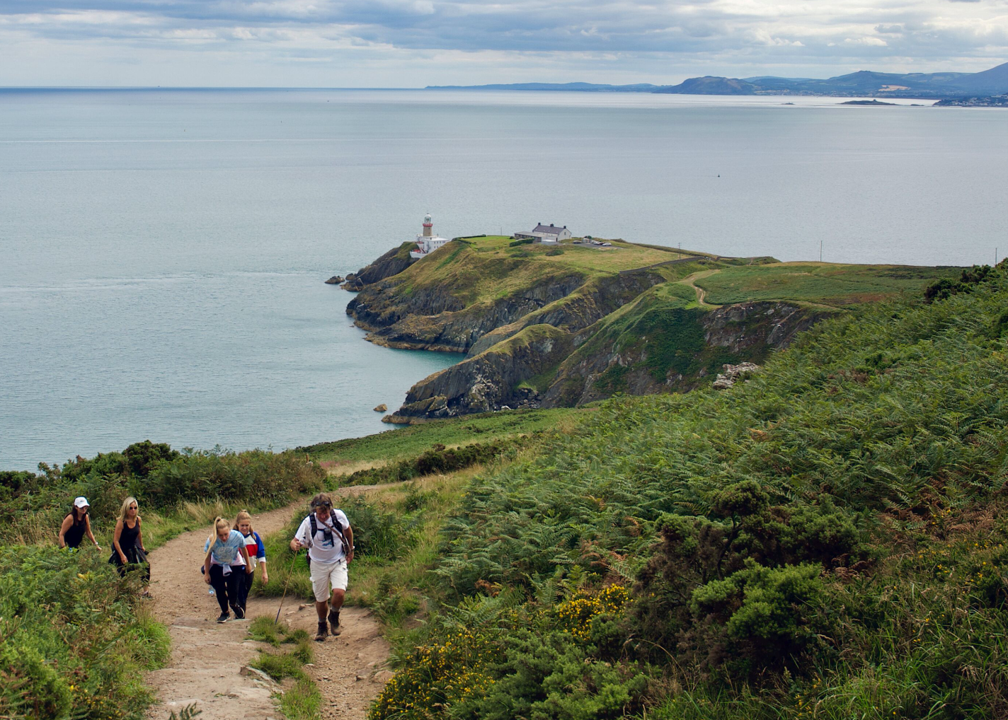 Howth Hike in Dublin Ireland
